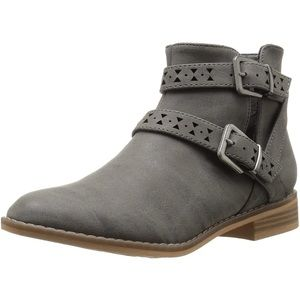 Rocket Dog Buckle Ankle Boots